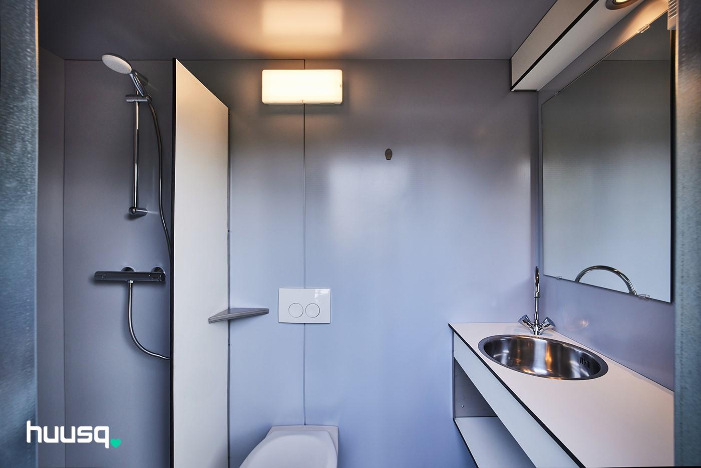 Privé sanitair Camping Oda Hoeve